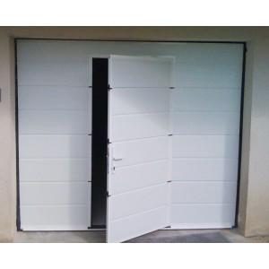 Porte de garage sectionnelle porte garage sectionnelle pose de porte de garage sectionnelle for Porte garage electrique