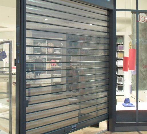 Porte garage industrielle porte de garage industrielle - Protection porte de garage ...
